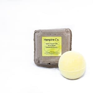 Lemon Rosemary Bath Bomb