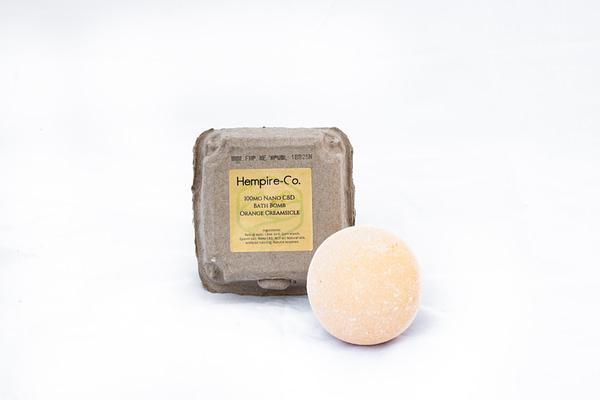 Orange Creamsicle 100Mg Bath Bomb