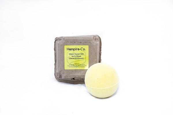 Lemon Rosemary Bath Bomb
