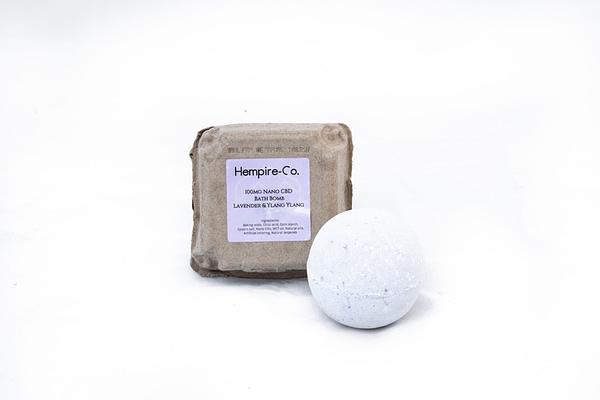 Lavender &Amp; Ylang Ylang Bath Bomb 100Mg